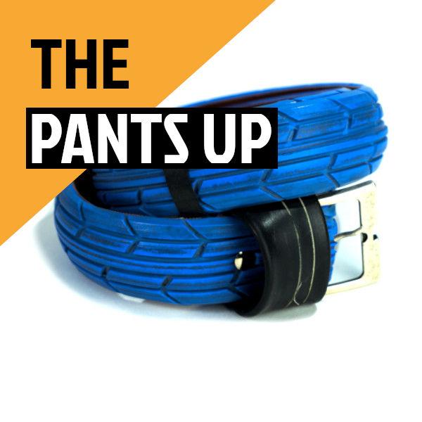 Blue Upcycled Belt