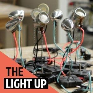 Upcycled Bike Lamp – Light Up