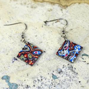 Graffiti Earrings – By Koema