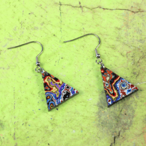 Graffiti Earrings – By Koema