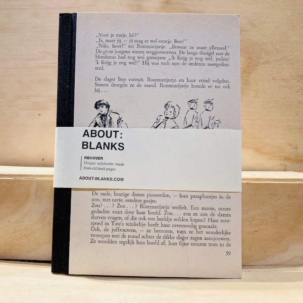 About Blanks - Notebook Recycled